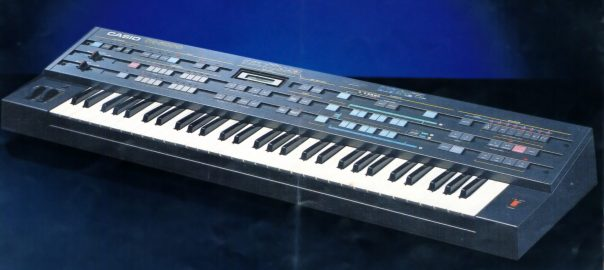 Casio CZ-5000 Synthesizer 1985