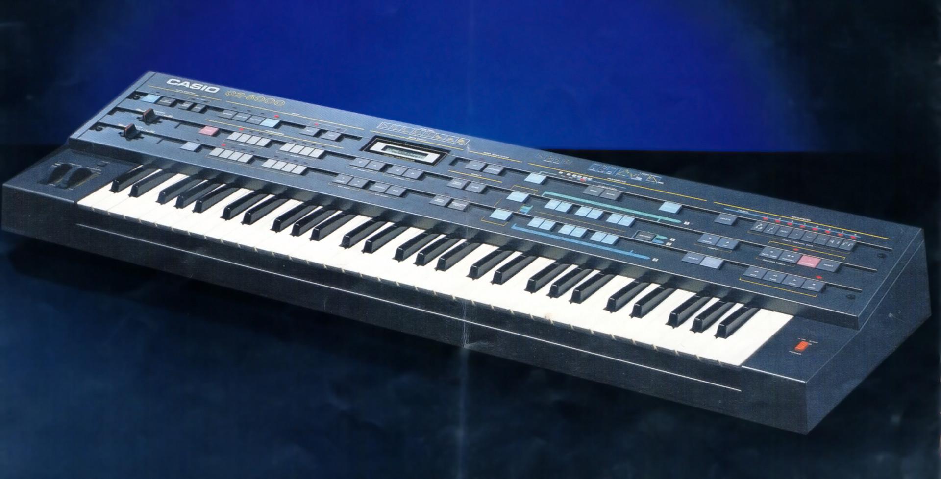 Casio CZ-5000 Synthesizer 1985