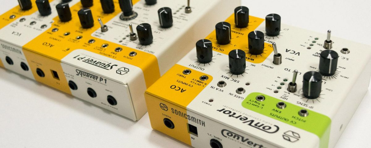 sonicsmith squaver-p1 convertor synths connectivity